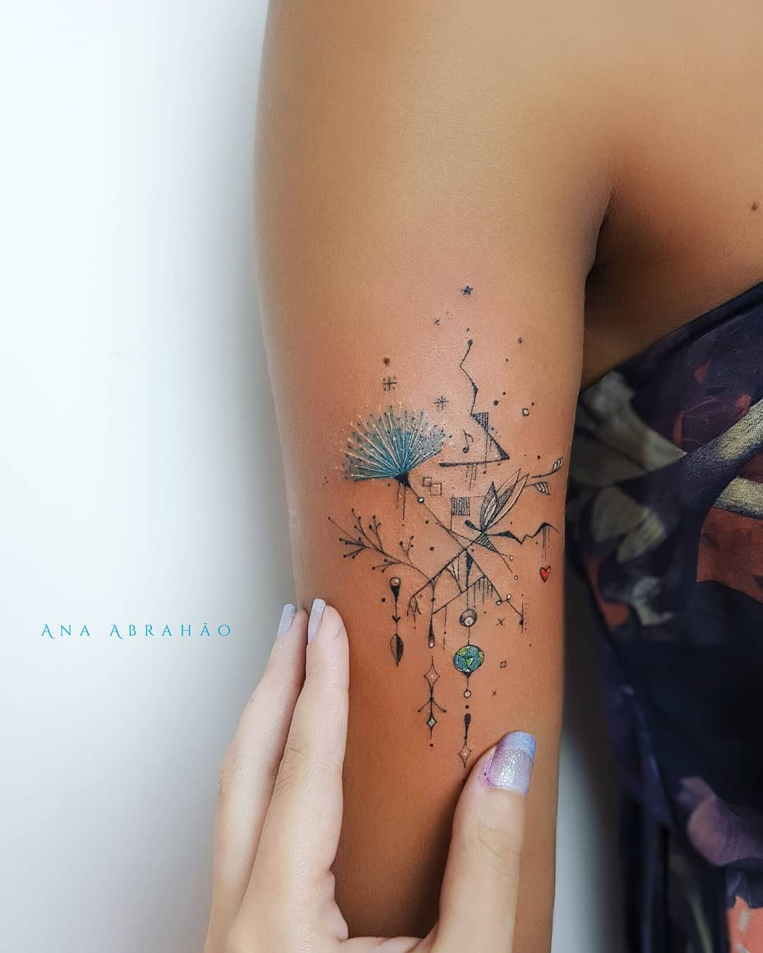 Extraordinary Ink Art Designs by Ana Abrahão
