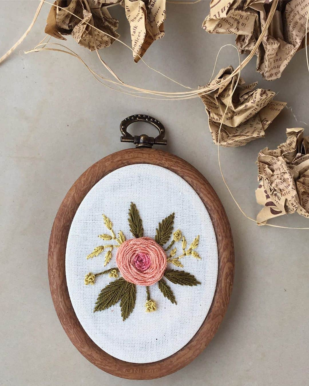 24 Stunning Embroidery Hoop Design Examples