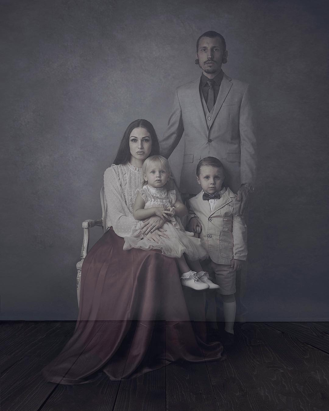 Photographer Creates Ghostly Imagery with Her Family