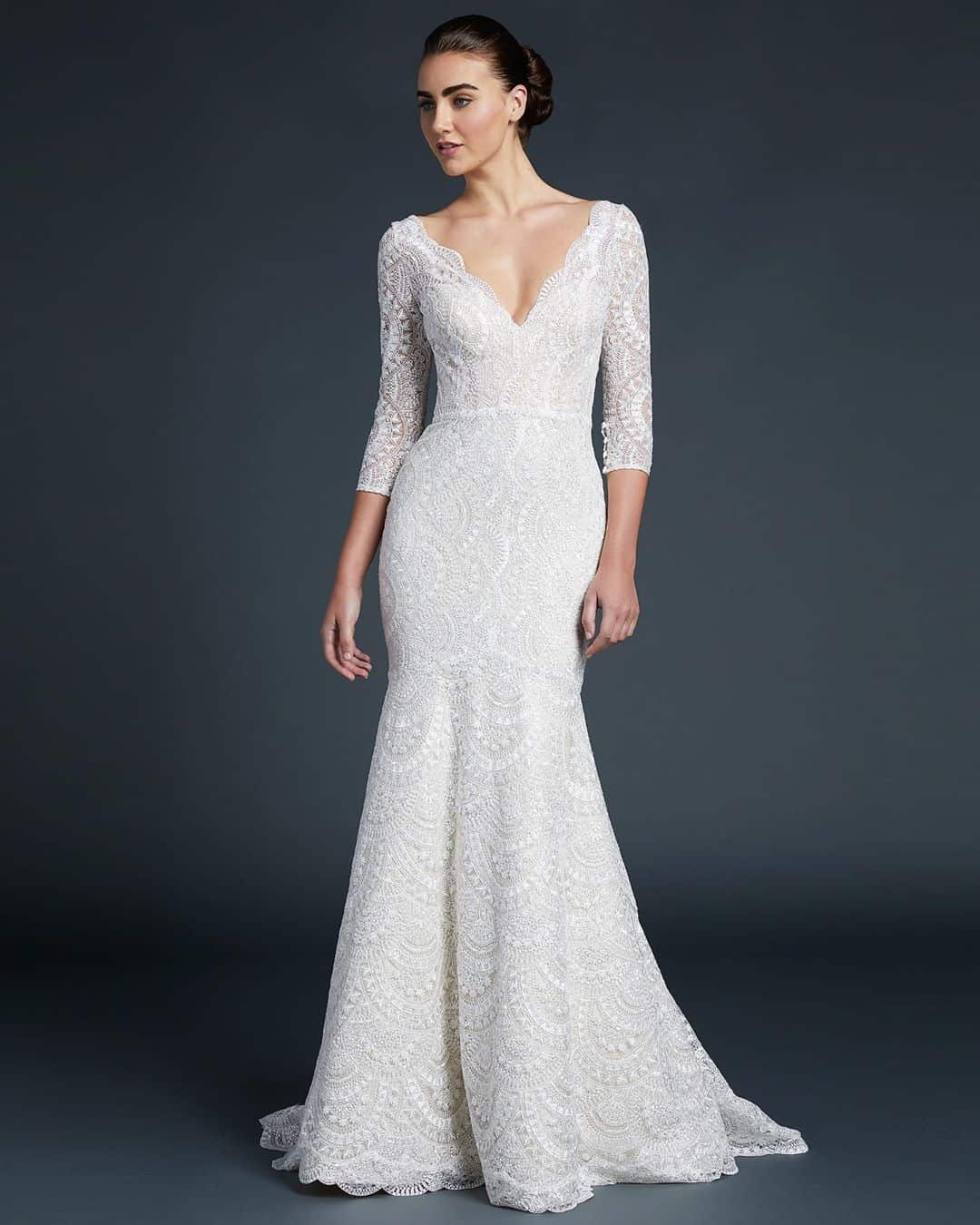Traditional Meets Contemporary In Anne Barges Bridal Designs
