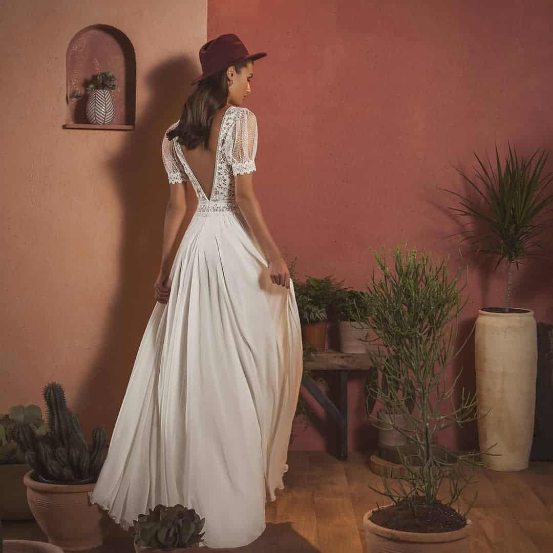 Romantic Boho Chic Bridal Dresses by Inbar Freiman