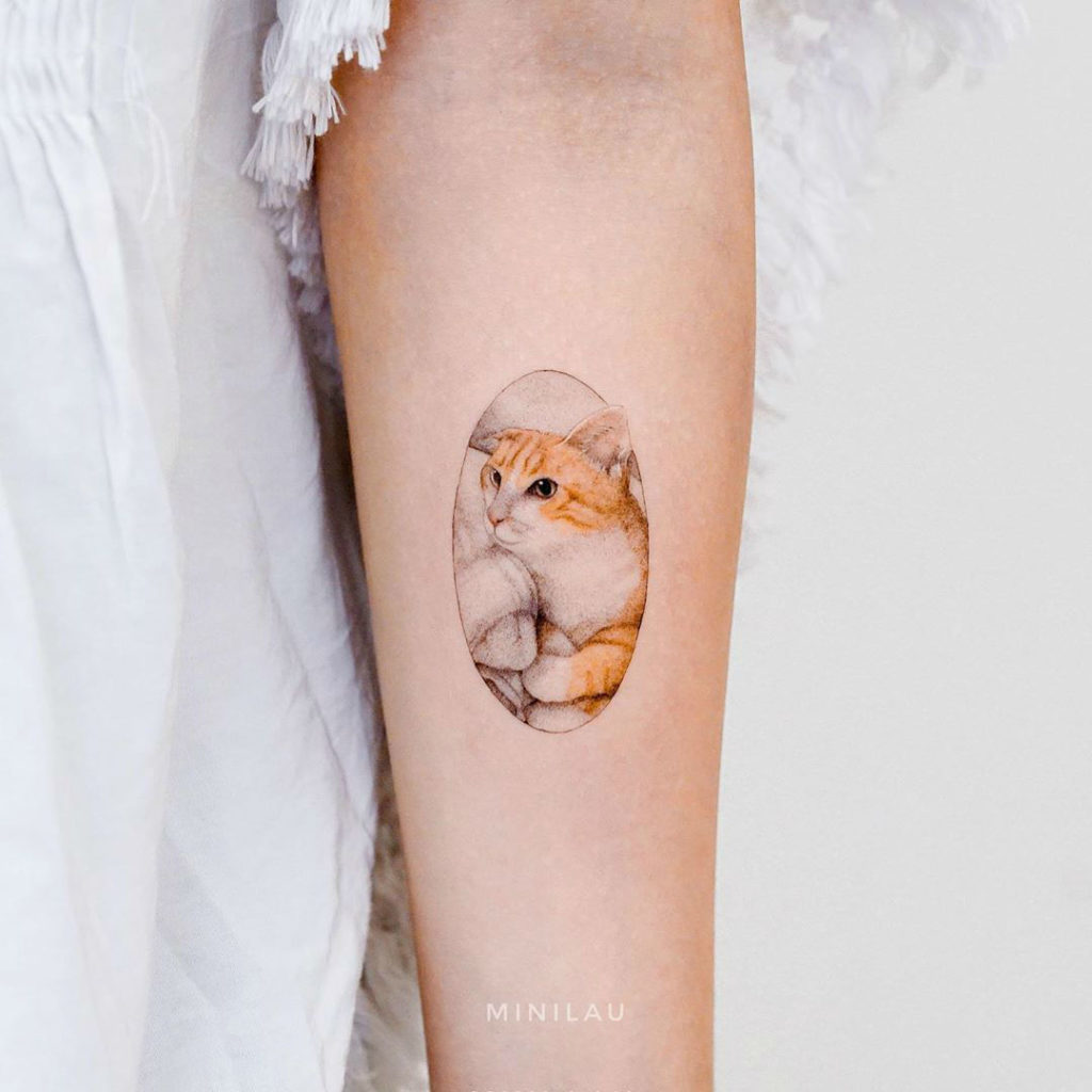 Artist Creates Cute and Realistic Small Tattoo Designs