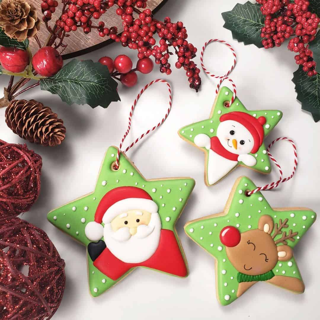 25 Brilliantly Decorated Christmas Cookies