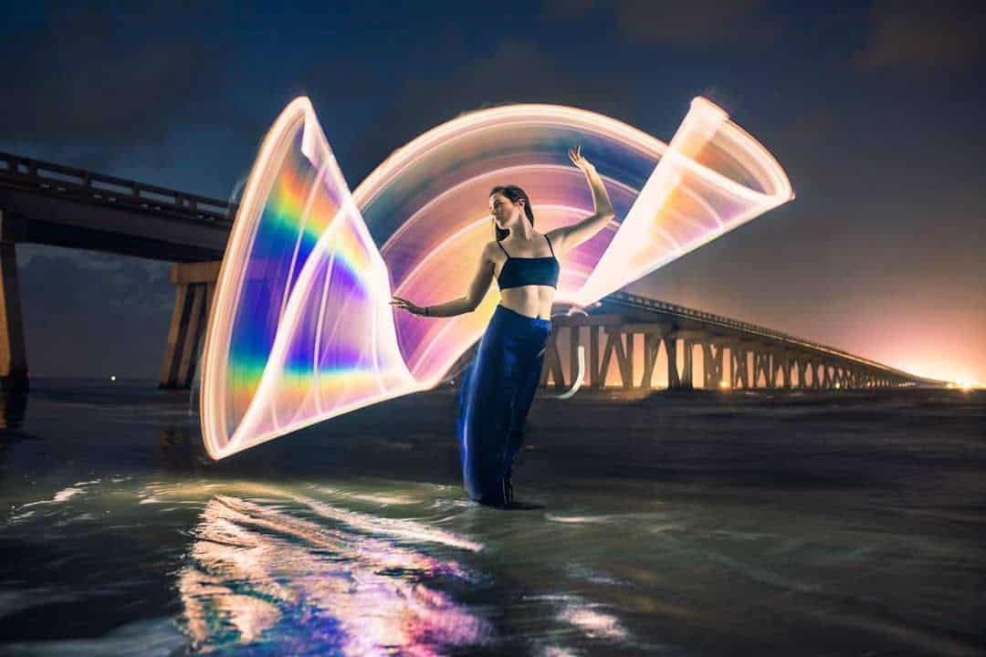 Light Painting   Portraits and Landscapes by Zach Alan