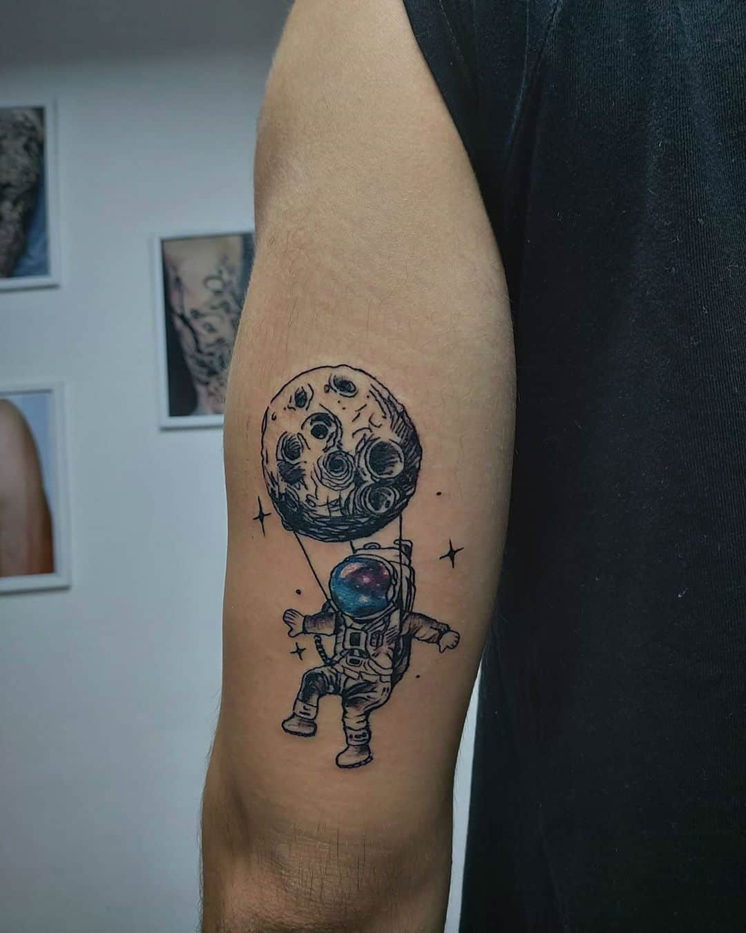 Astronaut Tattoos – There's No Limit for These Great Designs