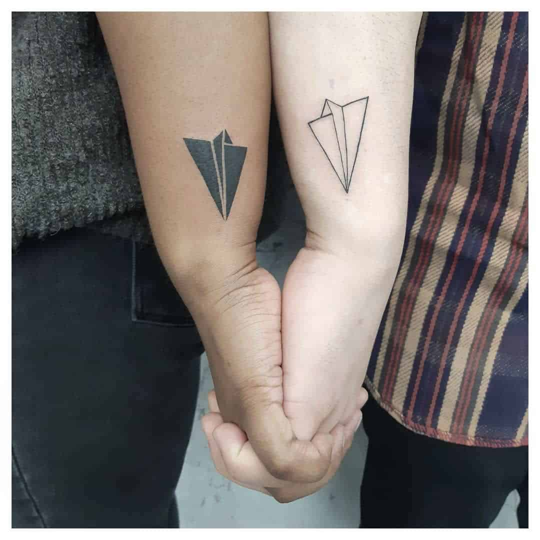 Paper Airplane Tattoos   Nearly Endless Possibilities and Meanings