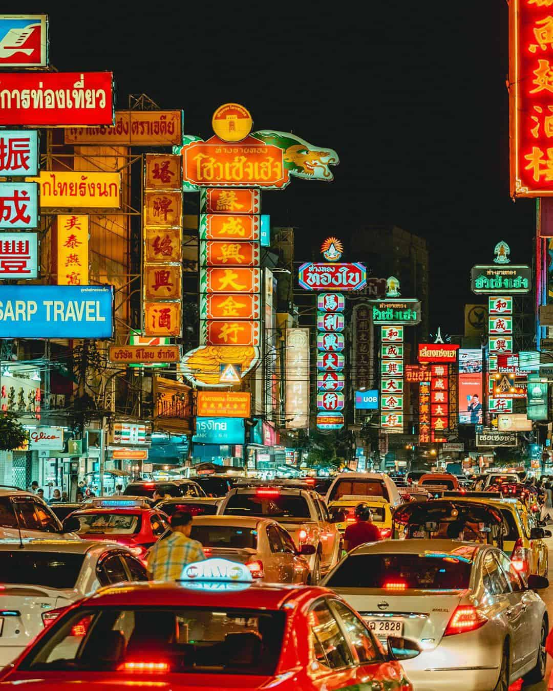 Vibrant Urban Photography by Tim Wah