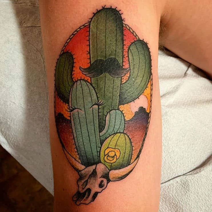 24 Fascinating Cactus Tattoo Ideas and Their Meanings
