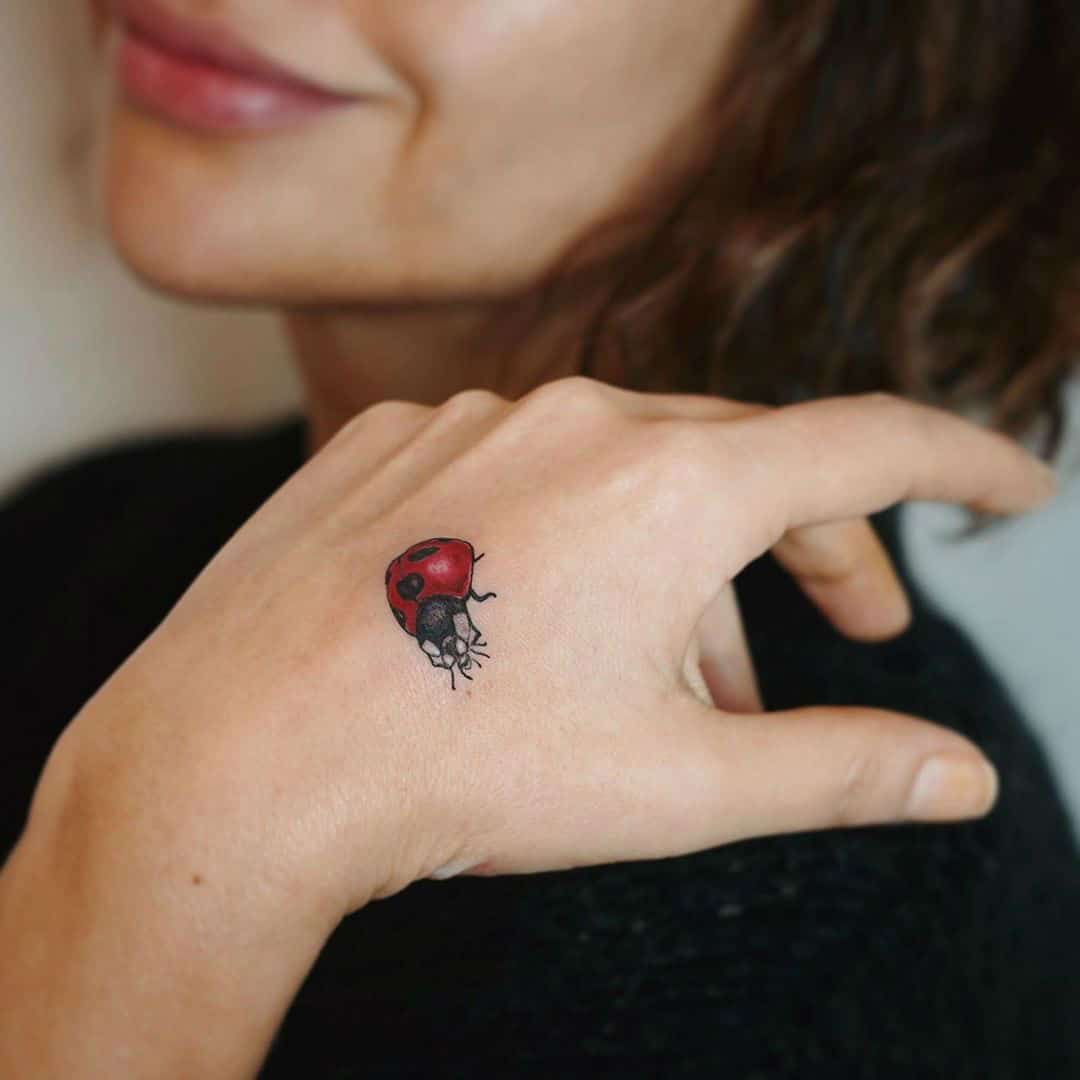 20 Delightful Ladybug Tattoos and Their Symbolic Meanings