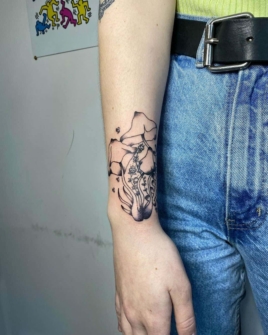 24 Quirky Mushroom Tattoo Designs and Popular Meanings