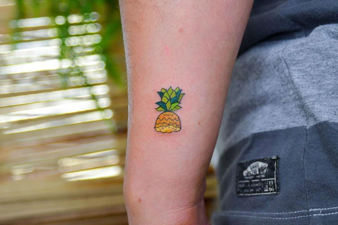 Welcome to 22 Pineapple aka Ananas Tattoo Designs and Their Meanings