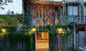 Marvelous Bamboo and Steel Complex in Indonesia