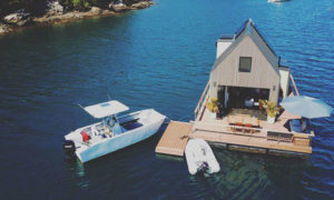 Lilypad Palm Beach Villa - Floating 2-Story House Open to the Public