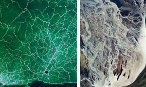 Water Shapes Earth Project - Aerial Shots or Abstract Paintings?