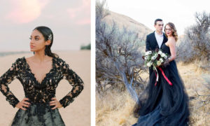 25 The Most Beautiful and Extraordinary Black Wedding Dress Ideas