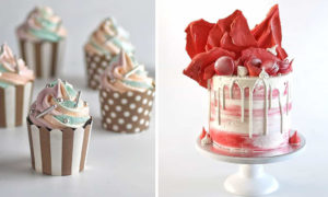 Talented Pastry Chef Creates Uniquely Beautiful Cakes