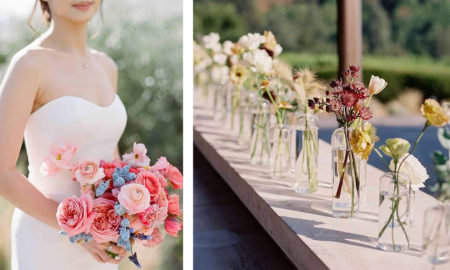 Unique and Timeless Flower Arrangements by Gather Design