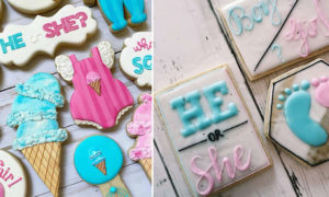 24 Smart and Lovely Cookie Ideas for Gender Reveal Party