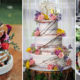21 Chic and Sophisticated Naked Wedding Cake Examples