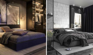 20 Dramatic and Soothing Dark Bedroom Ideas