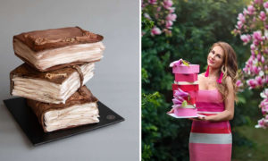 Talented Artist Creates Extremely Beautiful Cake Designs