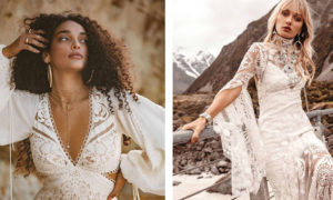 Incredibly Charming Bohemian Style Bridal Dresses by Rue De Seine Bridal