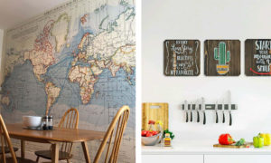 21 Pretty and Inexpensive Kitchen Wall Decoration Ideas