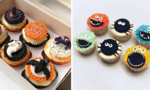 24 Scary But Fun Halloween Cupcake Designs