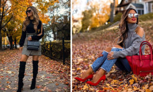 Classy and Chic Fall Outfits To Steal by Maria Vizuete