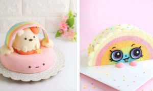 Creative Chiffon Cake Designs by Susanne Ng