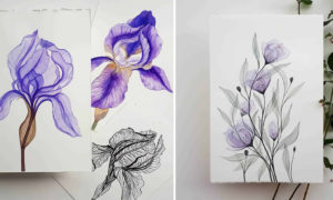 Artist Gives the Best Examples of Transparent Painting
