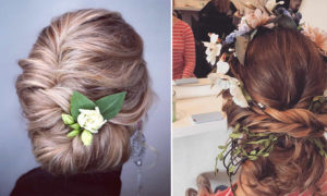 Dreamy Hairstyles for Beautiful Brides by Katie Attwood