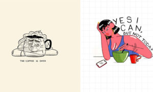 Thought-Provoking Illustrations On Women's Empowerment by Hábito-Beatriz Castro