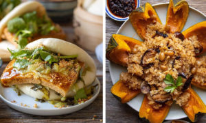 Woon Heng Chia Creates Plant-Based Dishes with an Asian Twist