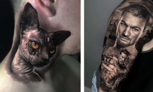 Outstanding Realistic Tattoo Designs by Jose Miguel Duque