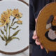 Creative Artist Turns Her Ideas About Women And Nature Into Embroidery