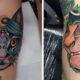 Pop Culture Inspired Colorful Tattoo Designs by Luke Thompson