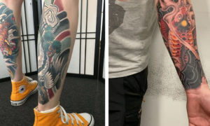 Amazing Tattoo Designs In Neo-Japanese Style by Andreas Von Cotta
