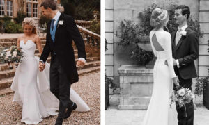 Traditional Perfectly Blends with Modern in Suzanne Neville's Bridal Designs