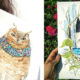 Owl-Loving Illustrator and Her Favourite Subjects in All Their Glory